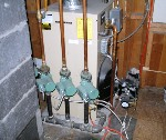 We have many years experience plumbing the pipes for heating systems